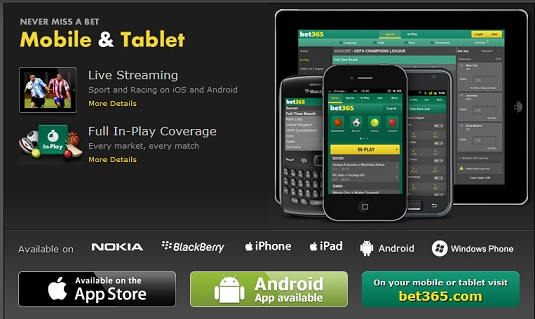 Bet365 mobile app imgs