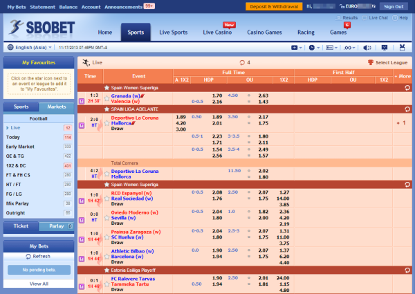 Sbobet: a bookmaker providing amazing betting experience